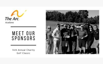 The Arc of Acadiana Thanks this Year's Golf Classic Sponsors!