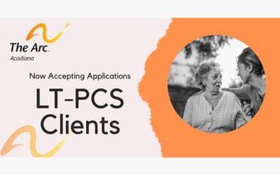 Arc of Acadiana Accepting New LT-PCS Clients