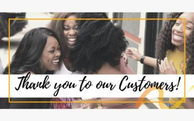 We Appreciate Our Customers