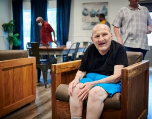 Person at Community Group Home